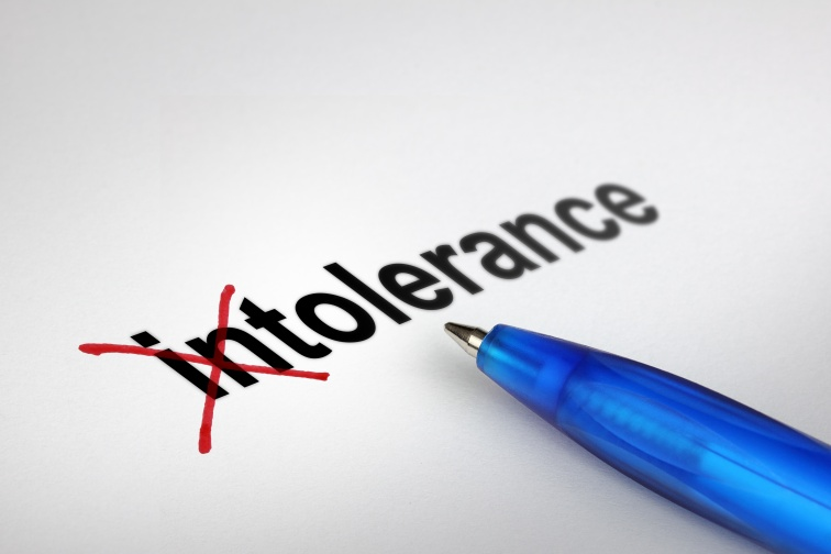 Changing the meaning of word. Intolerance into Tolerance.